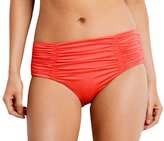 Seafolly Women's Front Shirred Retro Pant Swim Bottom