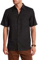 Toscano Geo Print Regular Fit Shirt