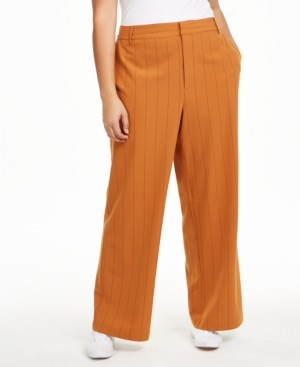 Danielle Bernstein Plus Size Trouser Pants, Created for Macy's