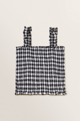 Seed Heritage Gingham Top