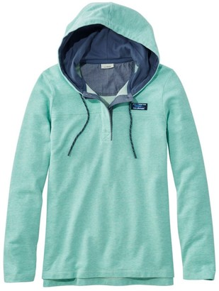 L.L. Bean Women's Soft Cotton Rugby, Hoodie Pullover
