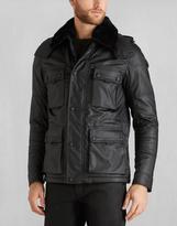 Belstaff Mountfield W/Fur Jacket Black