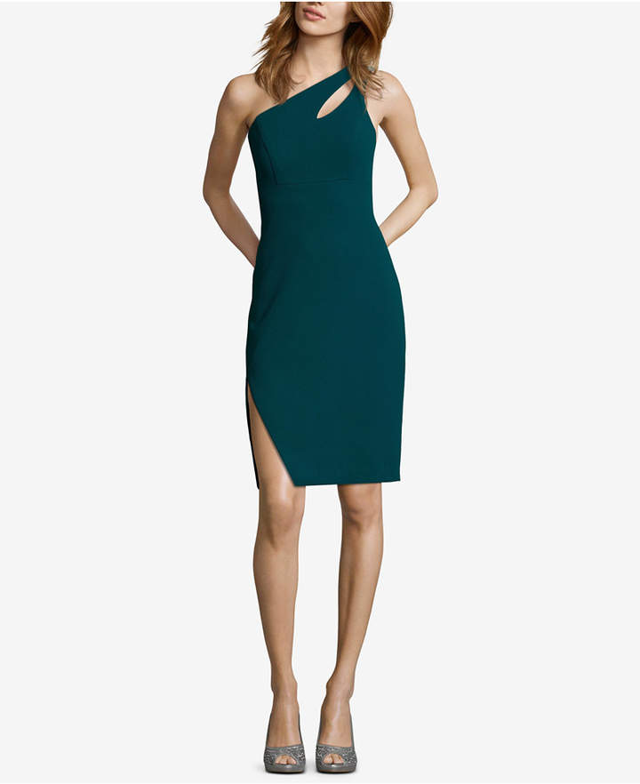 Xscape Evenings One-Shoulder Cutout Dress