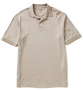 Roundtree & Yorke TravelSmart Short-Sleeve Dotted Jacquard Polo