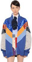 Marc Jacobs Sequined Cotton Blend Bomber Jacket