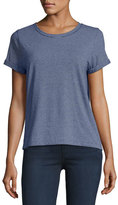 A.P.C. Short-Sleeve Striped Cotton T-Shirt, Navy