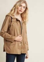 ModCloth Woods You Be Mine? Jacket in Maplewood in L - Anorak Jacket
