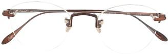 EQUE.M Izayoi round frame glasses
