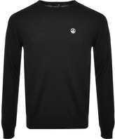 Love Moschino Crew Neck Jumper Black