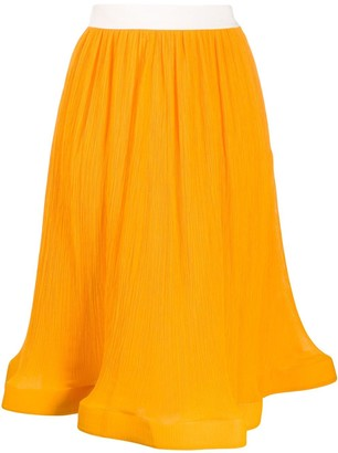 J.W.Anderson High-Waist Flared Skirt