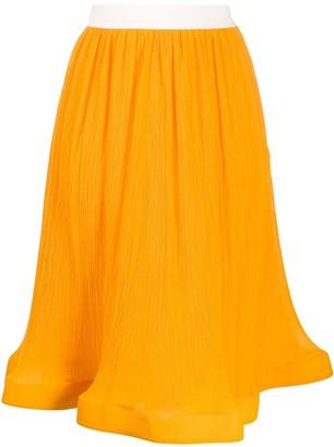 J.W.Anderson high-waist flared skirt