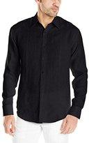 Cubavera Men's Long-Sleeve Linen Shirt