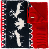 DSQUARED2 intarsia knit scarf - men - Wool - One Size
