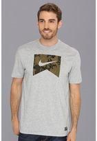 Nike SB - Dri-FIT Ribbon ERDL Tee (Dark Grey Heather) - Apparel