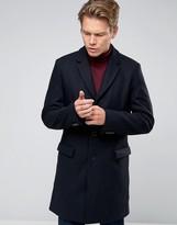 Hugo By Hugo Boss Wool Herringbone Overcoat
