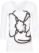 Escada Sport Flower Printed T-Shirt
