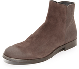 To Boot Arthur Suede Side Zip Boots