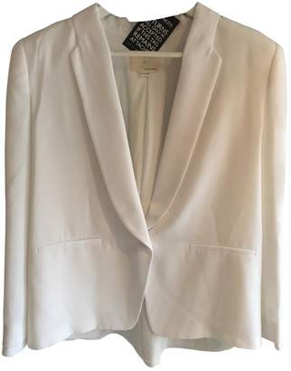 Band Of Outsiders White Jacket for Women