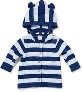 David Jones Boys Stripe Hooded Cardigan (000 - 0)