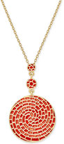 Charter Club Erwin Pearl Atelier for Gold-Tone Colored Spiral Necklace, Only at Macy's
