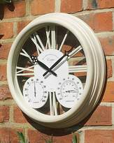 Fashion World Exeter Wall Clock & Thermometer
