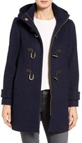 Vince Camuto Women's Boiled Wool Blend Duffle Coat