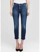 L'Agence The Nicoline Raw Hem French Slim Jean In Diamond