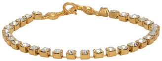 MONDO MONDO Gold Crystal Bracelet