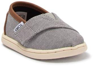 Toms Classic Chambray Slip-On Sneaker (Baby & Toddler)