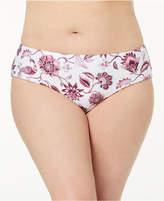 Becca Etc Plus Size Reversible Hipster Bikini Bottoms