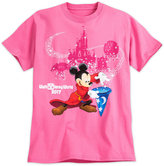Disney Sorcerer Mickey Mouse Tee for Adults - Walt World 2017 - Pink