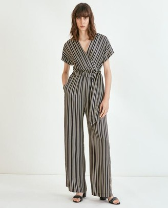 Suncoo Tamara Black Jumpsuit - Size 1 UK8