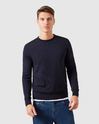 French Connection Merino Wool Crew Knit