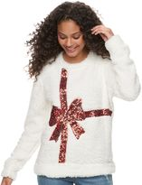 Miss Chievous Juniors' Holiday Sherpa Pullover