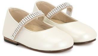 Babywalker Crystal Embellished Ballerinas