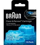 Braun Syncro Shaver System Clean & Renew Refills (12 Count Economy Size)