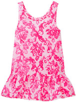 Milly Minis Ruffle Cover-Up (Toddler & Little Girls)
