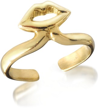 Bronze Midi Ring w/Mouth