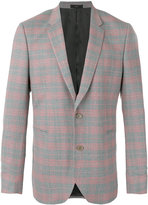 Paul Smith plaid blazer - men - Cupro/Wool - 36