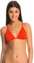 Bikini Lab Swimwear Desert Rows Triangle Bikini Top 8140388