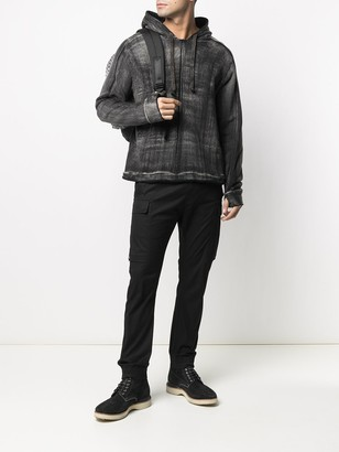 10sei0otto Washed-Effect Hoodie