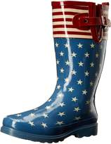 Western Chief Women's Flag Top Pop Rain Boot