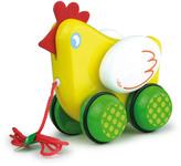 Vilac Poupoule The Hen Multicoloured