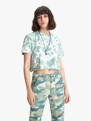 Mother The Slouch Cutoff - Olive Drab