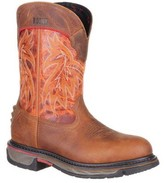 "Rocky Men's 11"" Iron Skull Western Boot RKW0201"