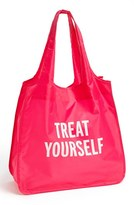 Kate Spade 'Treat Yourself' Reusable Shopping Tote - Pink