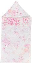 Roberto Cavalli leopard floral print baby nest - kids - Cotton/Elastodiene - One Size