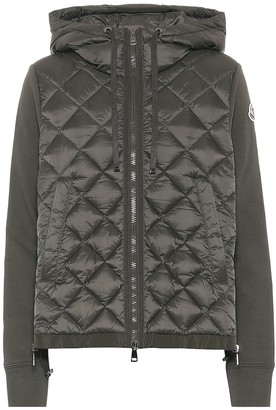 Moncler Down and jersey jacket