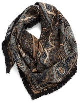Echo Women's Paisley Silk Triangle Scarf