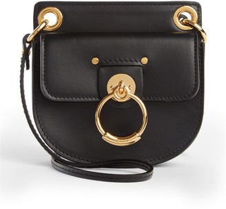 Chloé Mini Tess Leather Crossbody Bag
